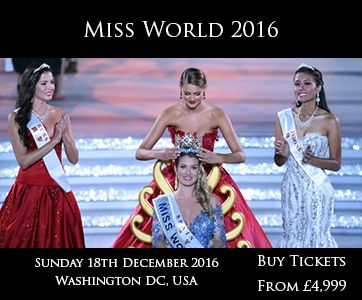 High-End VIPSERVICEAGENCY™ Group: Miss World 2016 Hospitality VIP Tickets