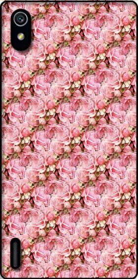 Cover Roses Bouquet per Huawei Ascend P7