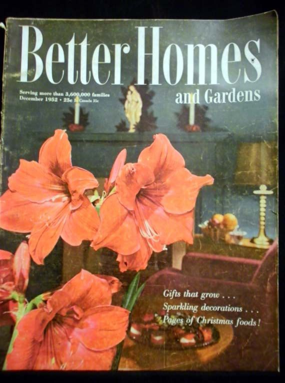 Vintage 1952 Better Homes And Gardens Christmas By Knowsthesongs, $8.00