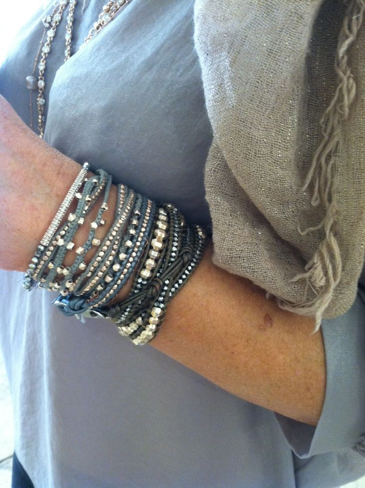 chan luu wrap http://pinterest.com/ilovechanluu/arm-candy/#bracelets - arm candy!  (want.)                                                                                                                                                                                 More