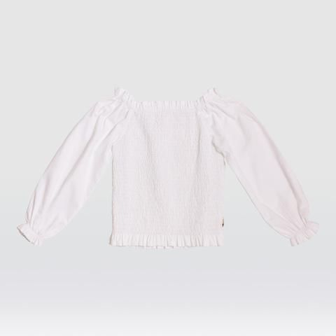 Feather Drum_Mahina Peasant Blouse - The Child Hood