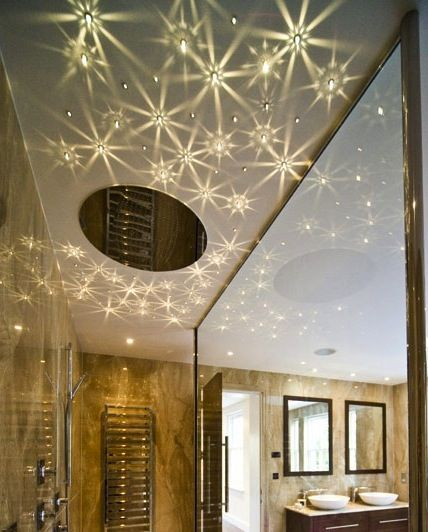 Best 25 star lights on ceiling ideas on pinterest star ceiling star light ceiling in bathroom creates such a unique effect on the ceiling aloadofball Images