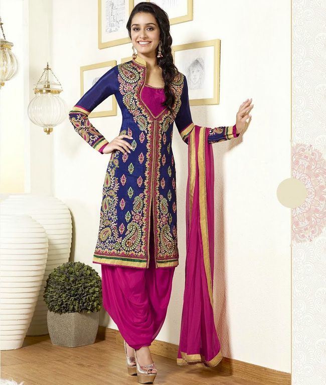 236 best Anarkali Suits images on Pinterest | Silk anarkali suits ...
