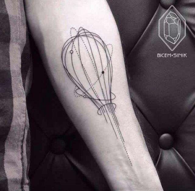Quelques-uns des plus beaux tatouages géométriques signés Bicem Sinik