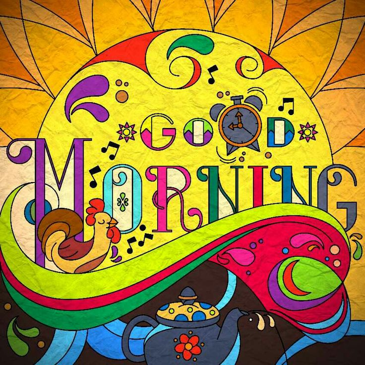 Good morning pic coloured in colorfy app..also added paper texture 😘😘😘