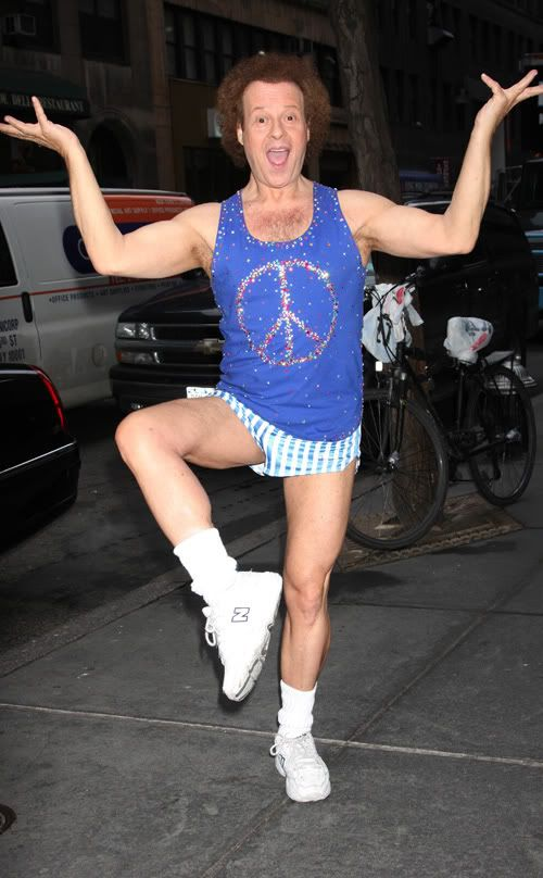 A Very Necessary Tribute To Richard Simmons' Short Shorts