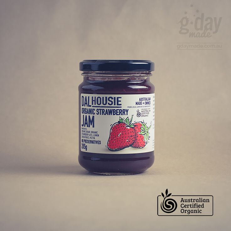 It's a staple in almost every house in Australia.  The good ol' jar of strawberry jam.  You may not even EAT jam, but chances are that you have one of these around somewhere.  Whether you like to slatherit on your weekend croissant or only have it every now and then on your hot scone with cream, you'll definitely want to try the Dalhousie Fine Food Strawberry Jam.  Packed with certified organic strawberries that you can actually SEE and TASTE, this is one staple that may not last as long as…