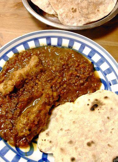 リトル・フォレスト」(五十嵐大介)のチャパティとインド風チキン ... リトル・フォレスト チャパティ カレー