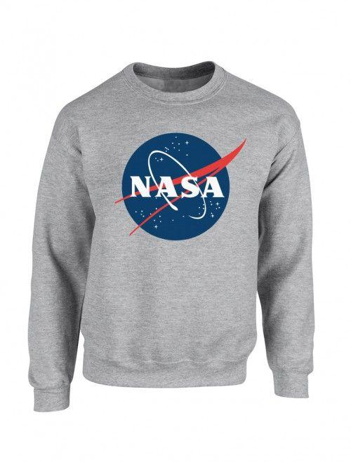 Sudadera de hombre logo NASA. Encuentra las últimas tendencias en sudaderas y moda joven para hombre en nuestra tienda de ropa online. http://latiendajoven.com/145-sudaderas-hombre #sudaderas #hombre #nasa #logo #sudaderaspersonalizadas #sudaderasestampadas