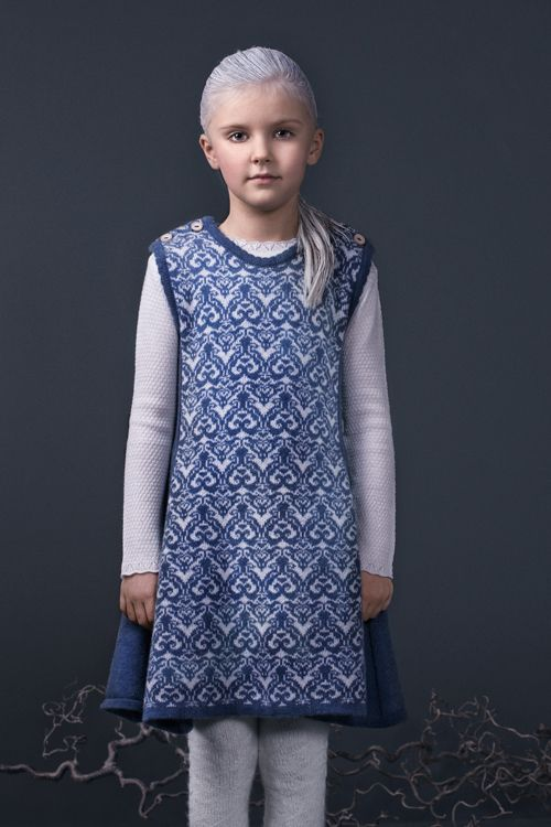 Beautiful rose dress - signature style by Mole Little Norway AW15 <3