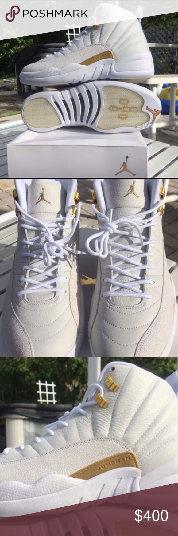 White OVO 12s New White OVO 12s in multiple sizes. Contact me @ (860) 362-1184 to purchase. Jordan Shoes Sneakers