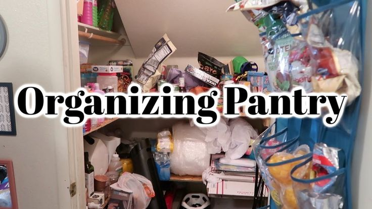 Spring Cleaning Organizing Pantry / Cleaning Motivation / Declutter & Organize y…