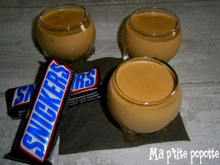 Mousse aux snickers