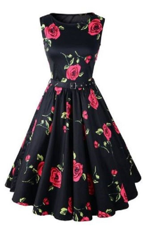 Sweet Red Rose Valentine's Day Dress!