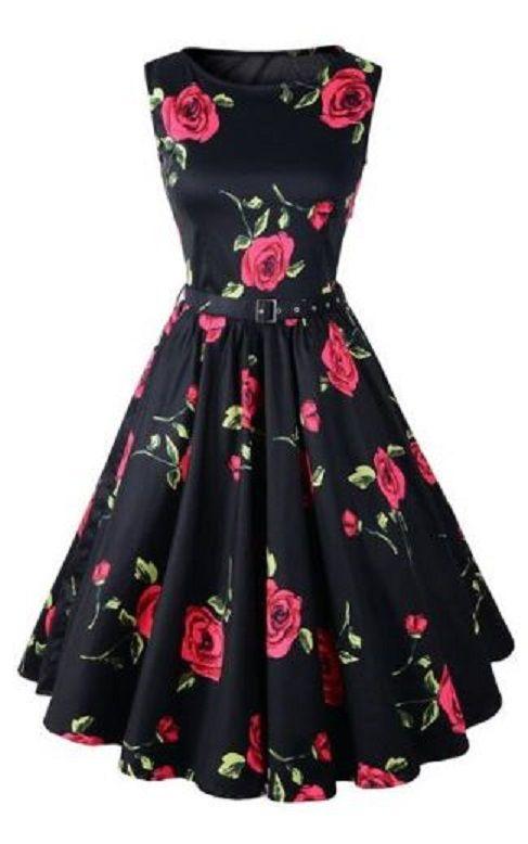 Sweet Red Rose Valentine's Day Dress!