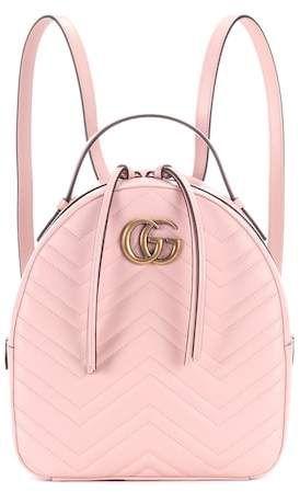 fd95cb6817d Gucci GG Marmont matelassé leather backpack