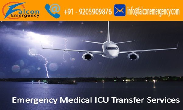 Falcon Emergency Air Ambulance Service in Patna is now also serves quick emergency medical care and complete emergency patients rescue transfer service.