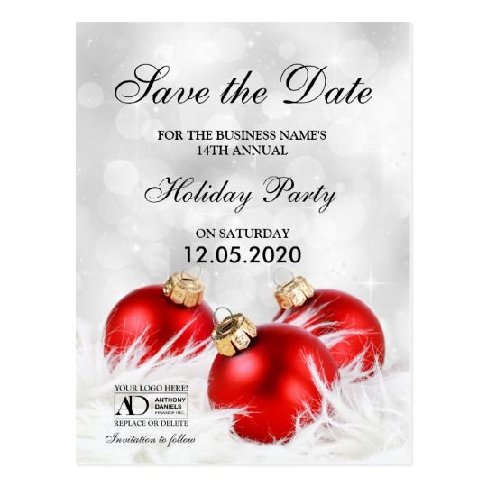Corporate Christmas Holiday Cards To Send To Employees Or Customers Corp Holiday Party Invitation Template Elegant Christmas Invitation Christmas Invitations