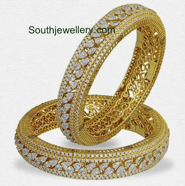 Diamond Bangles Archives - Page 3 of 11 - South Indian Jewellery