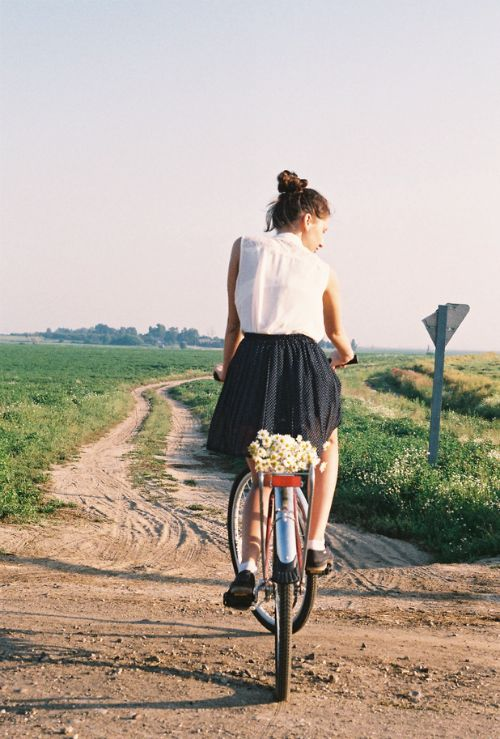 Bike ride in the country