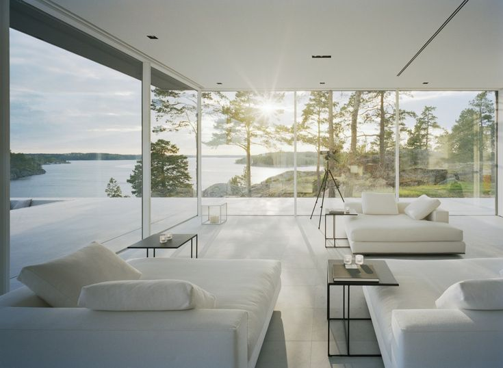 30 best Architecture: Swedish Glass House stunning views images on ...