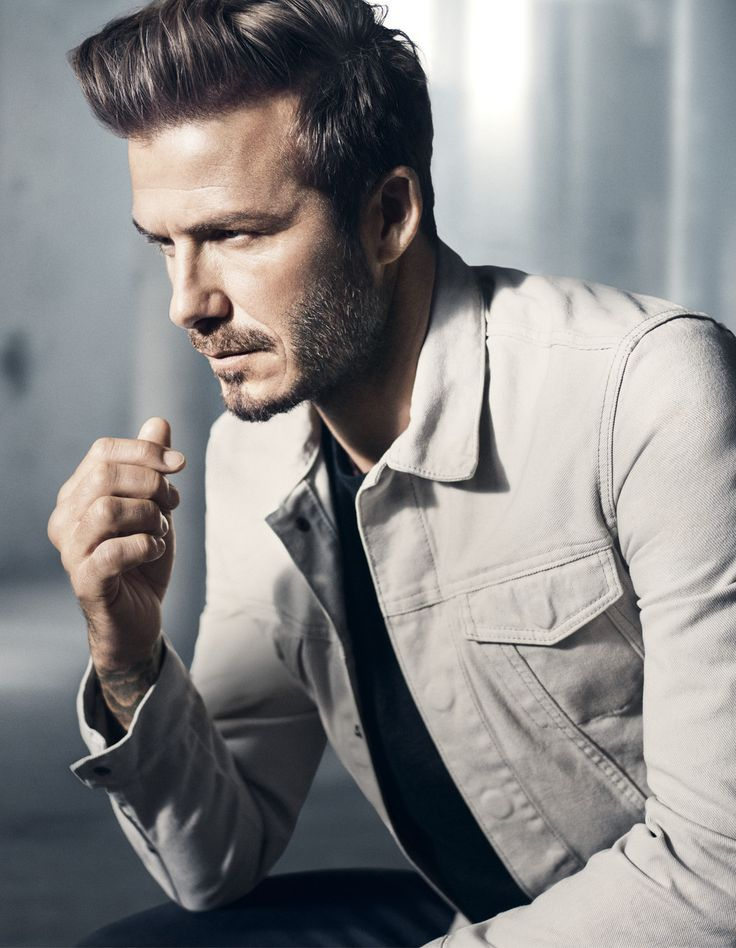 As with all photos of David Beckham in clothing, they're flawless.