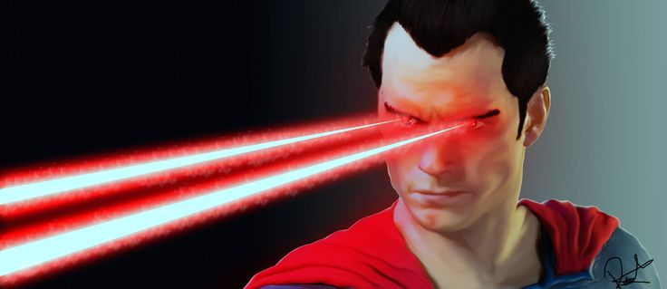 Superman (Man Of Steel Laser wallpaper) by robert-man on DeviantArt