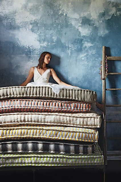 Valpo Twin Daybed Mattress, Geo-Weave - anthropologie.com