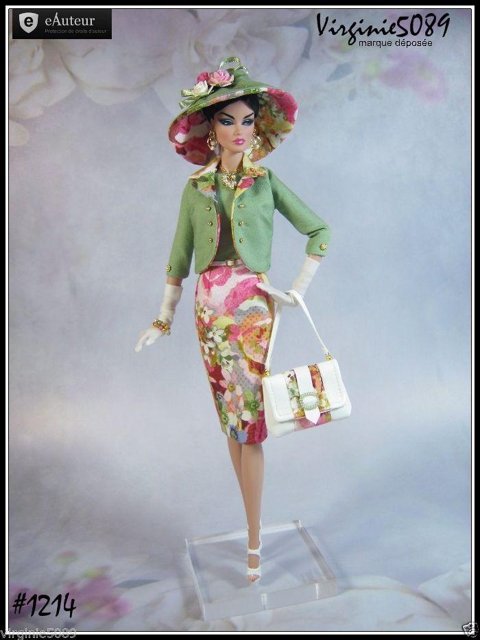 Tenue Outfit Accessoires Pour Barbie Silkstone Vintage Integrity Toys 1214   eBay