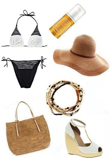 Vamos a la playa con un look diez -look de playa sofisticado
