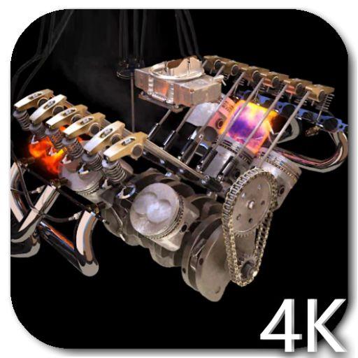 Engine 3D Video Live Wallpaper