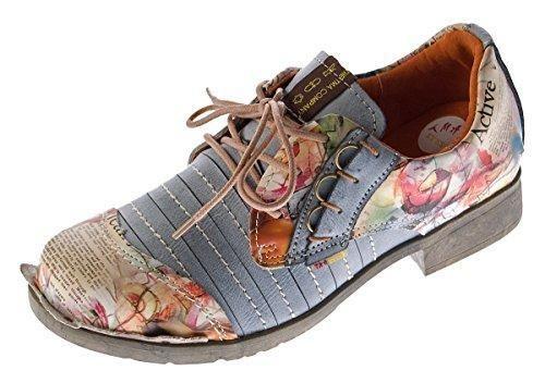 Oferta: 44.9€. Comprar Ofertas de TMA - zapatos con cordones Mujer , color Negro, talla 36 EU barato. ¡Mira las ofertas!