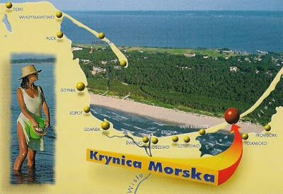 Pocztówkowe podróże po Polsce: KRYNICA MORSKA