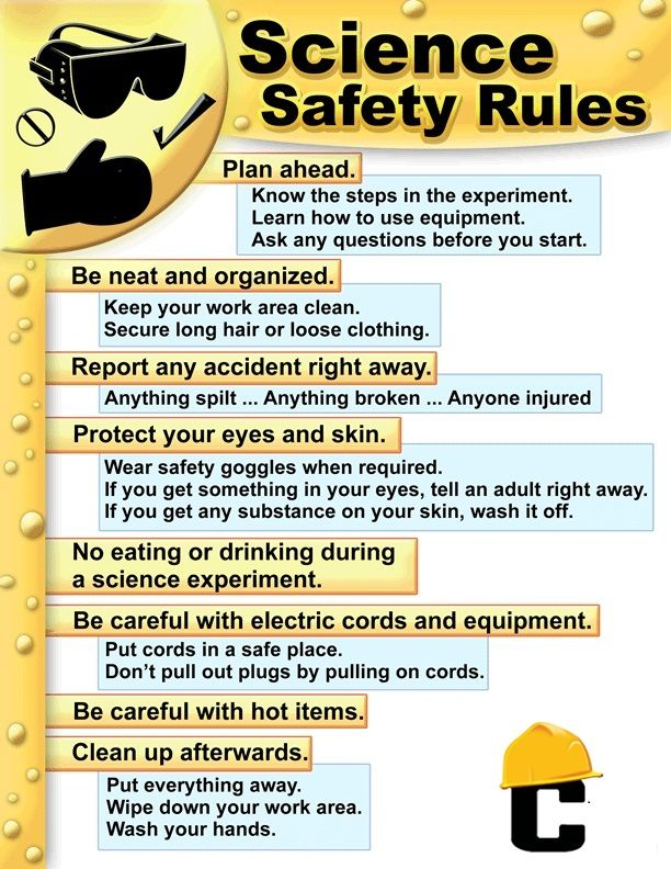 Some #safety rules for #industrial #workers.