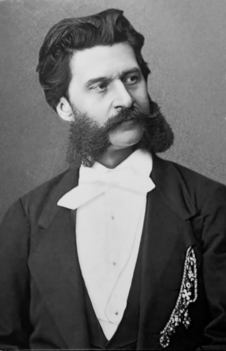"JOHANN STRAUSS II (1825-1885) COMPOSER of light music. Born in St. Ulrich Austria, son of composer Johann Strauss I.  As a child, he studied music secretly because his father wanted him to become a banker.  Largely responsible for the popularity of the waltz during the 19th century, he was known as ""The Waltz King""  Among his best known compositions are ""The Blue Danube"",  ""Tales From the Vienna Woods"", ""Die Fiedermaus"" and my personal favorite ""Kaiser Walzer"" also known as ""The Emperor's…"