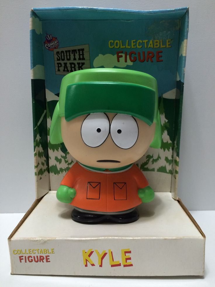 (TAS031691) - 1998 Comedy Central Collectable Figure - South Park Kyle