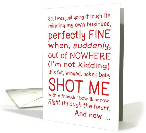 17 Best images about Valentines Day Cupid Sweethearts on – What to Right on a Valentine Day Card