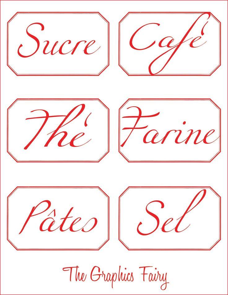 étiquettes pour la cuisine Etiquette, Miniatures and Scrap - creer sa cuisine en d gratuit