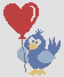 Valentine Birdie Chart