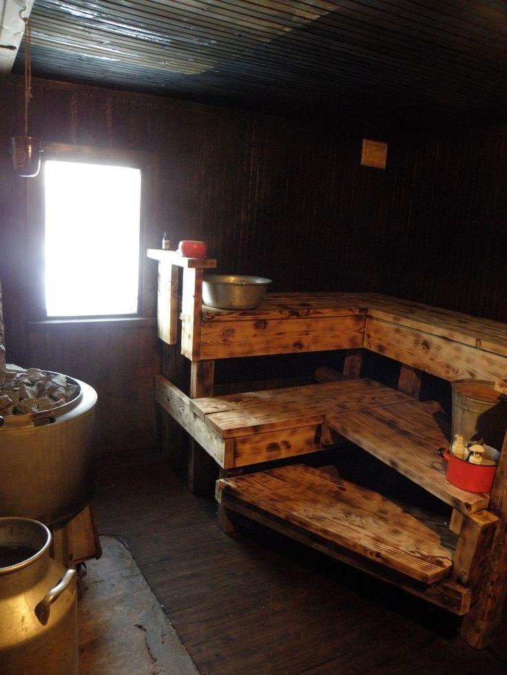 YLÄTALO - koti hirsitalovanhuksesta: Pihasaunalla