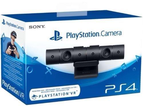SONY PS4 Camera V2 schwarz kabelgebunden USB PlayStation VR Standfuß Mikrofon