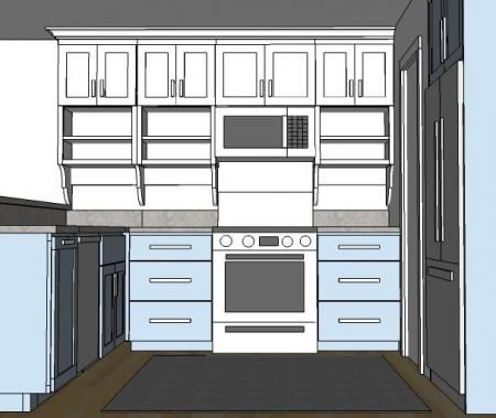 Build it yourself kitchen cabinet plans - loads more DIY wood projects here!