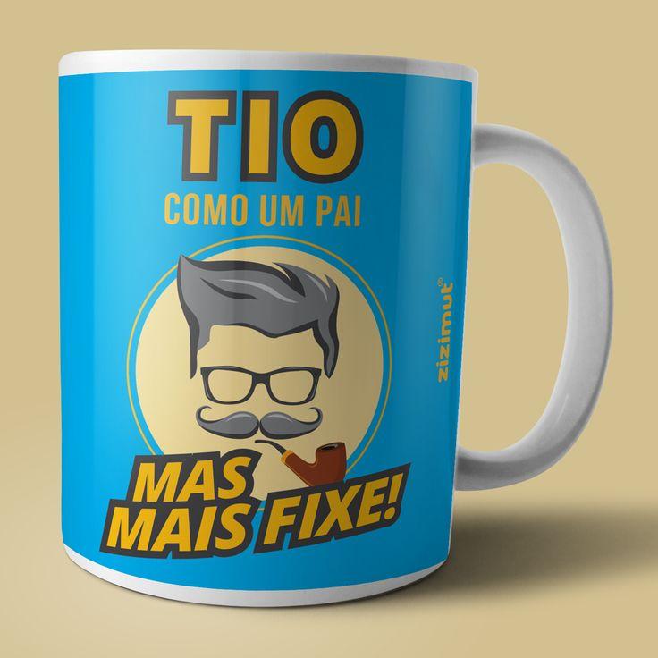 Caneca para a tio. 😍 #zizimut #funnytshirts #tshirts #hoodies #sweatshirt #giftshops #personalizedgifts #personalizadas #porto🇵🇹 #tshirtshop #caneca #mug #tio #uncle