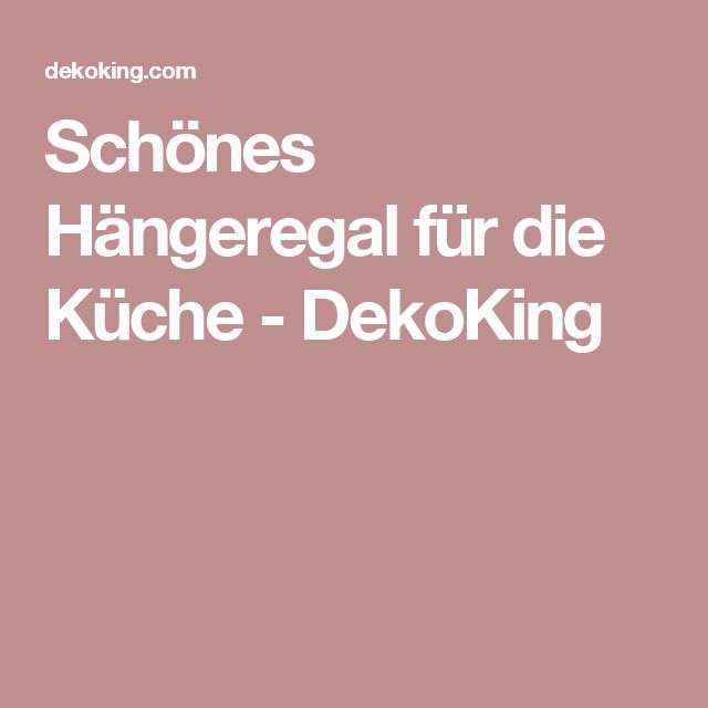 Hängeregal küche lampe  Die besten 25+ Hängeregal küche Ideen auf Pinterest   Kräuterregal ...
