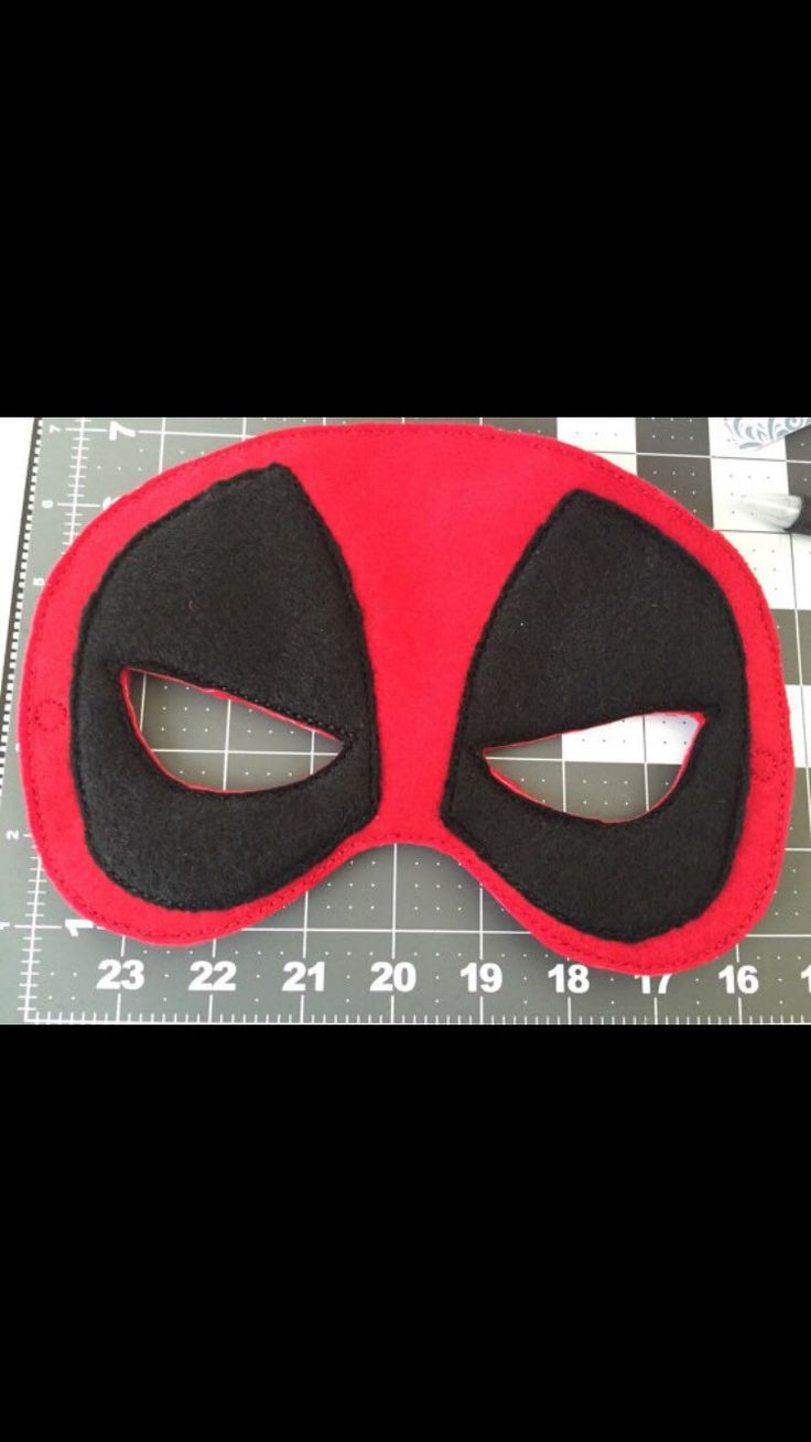 A personal favorite from my Etsy shop https://www.etsy.com/listing/261554139/deadpool-mask-party-favors-dress-up