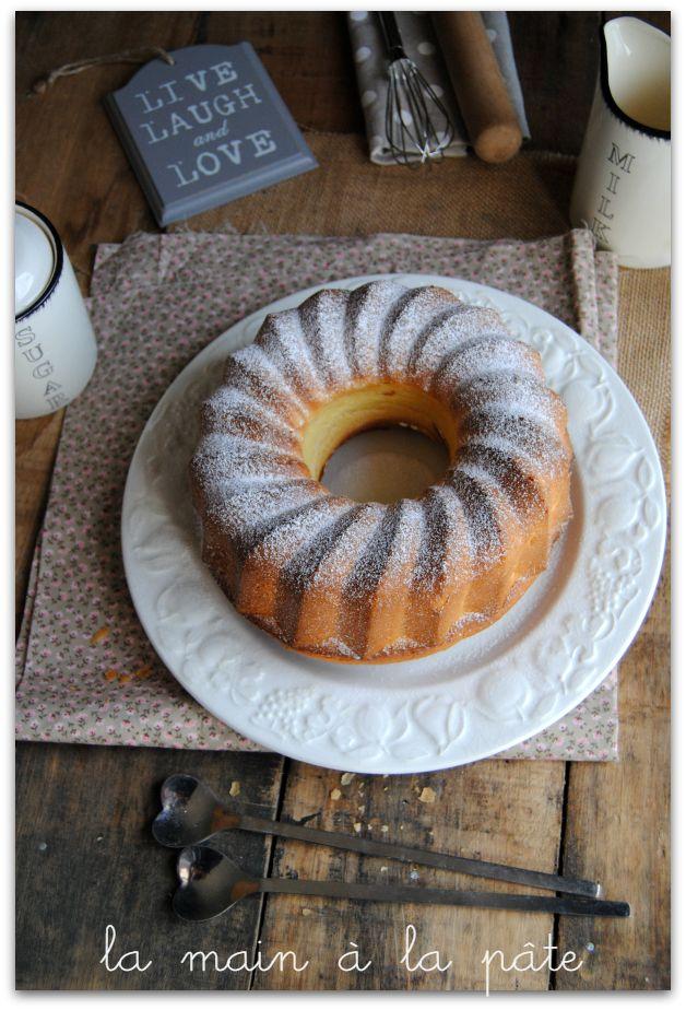 Gâteau italien au citron et à la crème fraîche -
