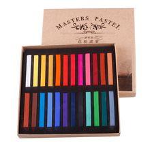24 kleuren maquiagem fashion hot fast niet giftig tijdelijke pastel haar kleur krijt #02 #26841(China (Mainland))