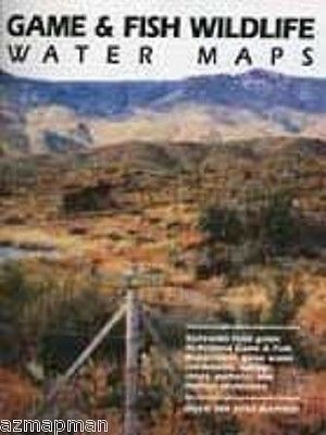 North America 164806: Arizona Game And Fish Wildlife - Water Catchment Map Book -> BUY IT NOW ONLY: $49.95 on eBay!