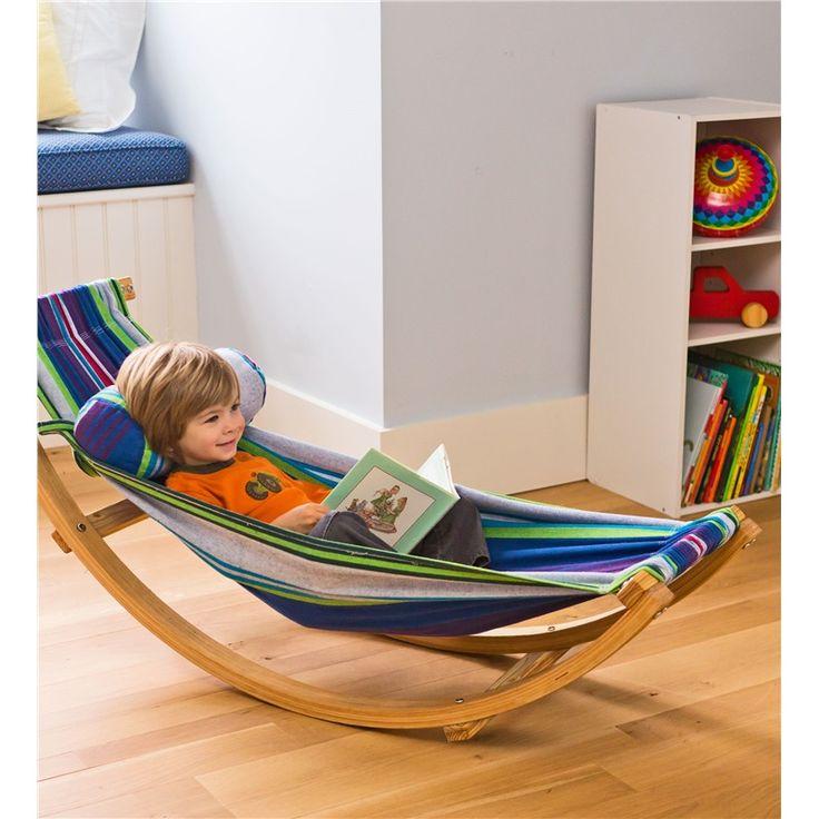 rocking hammock lounger   kids hammocks   magic cabin 102 best toddler room images on pinterest   child room bedrooms      rh   pinterest