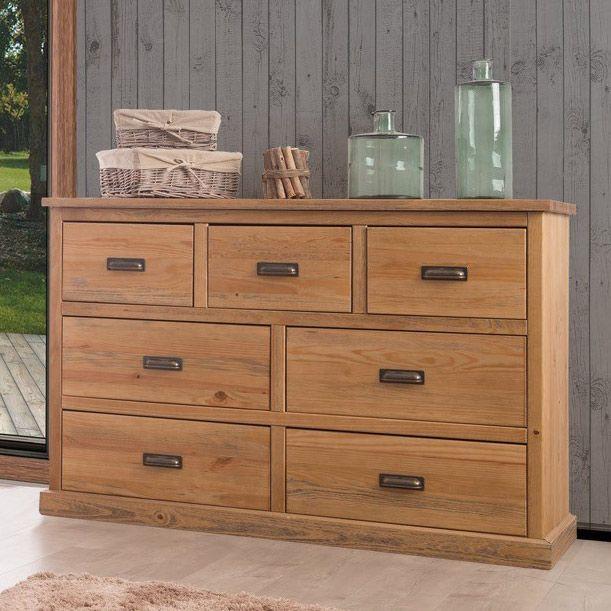 17 meilleures id es propos de commode en pin sur pinterest commode pin mat riel de commode - Commode chambre en bois massif ...